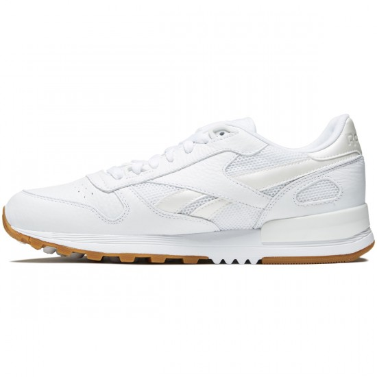 Reebok Classic Leather 2.0 Shoes - White/Black/Gum - 10.0