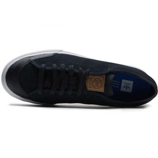 Adidas Matchcourt RX2 Shoes - Core Black/Cardboard/White - 8.0