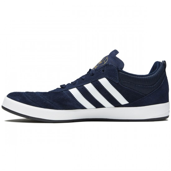 Adidas Suciu ADV Shoes - Collegiate Navy/White/Gold - 8.0