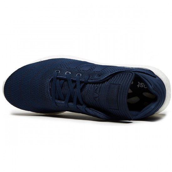 Adidas Busenitz Pure Boost Primeknit Shoes - Collegiate Navy/White/Gum - 8.0