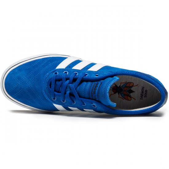Adidas X Bonethrower Adi-Ease Premiere Shoes - Blue/White/Collegiate Navy - 8.0