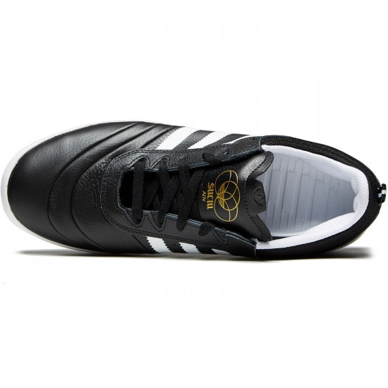 Adidas Suciu ADV Shoes - Core Black/White/Gold - 7.0