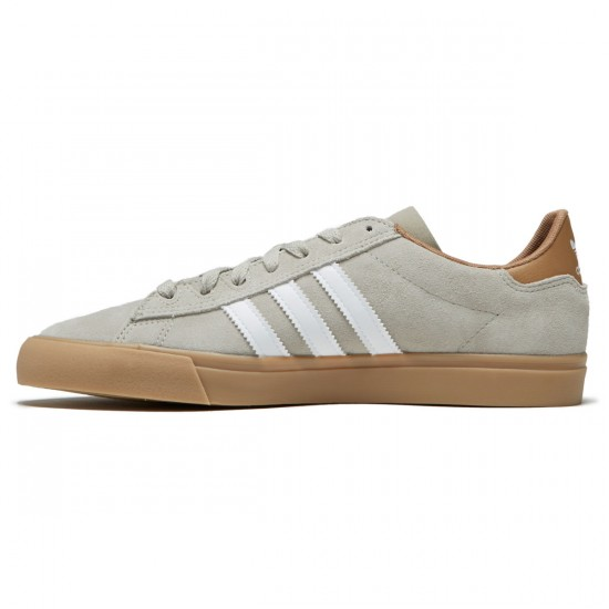 Adidas Campus Vulc II Shoes - Sesame/White/Cardboard - 6.5