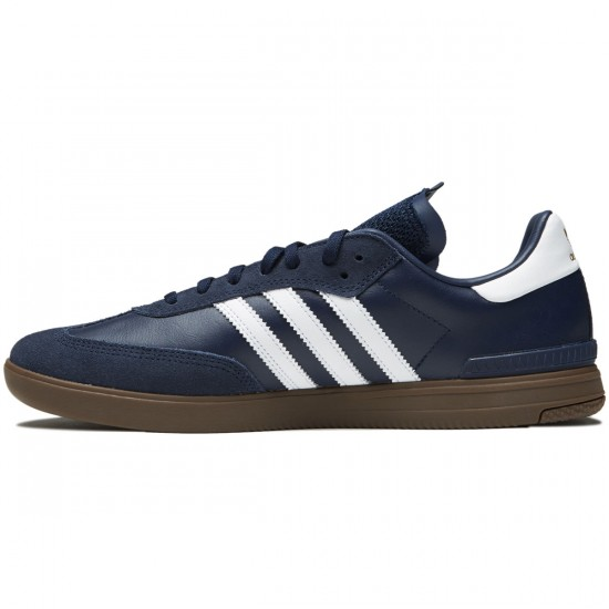 Adidas Samba ADV Shoes - Collegiate Navy/White/Gum - 6.0