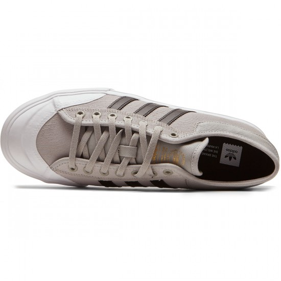Adidas Matchcourt Shoes - Solid Grey/Core Black/White - 8.0