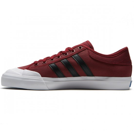 Adidas Matchcourt Shoes - Collegiate Burgundy/Core Black/White - 8.0