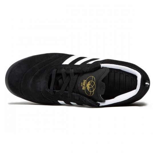 Adidas Suciu ADV Shoes - Core Black/White/Gold Metallic - 6.0