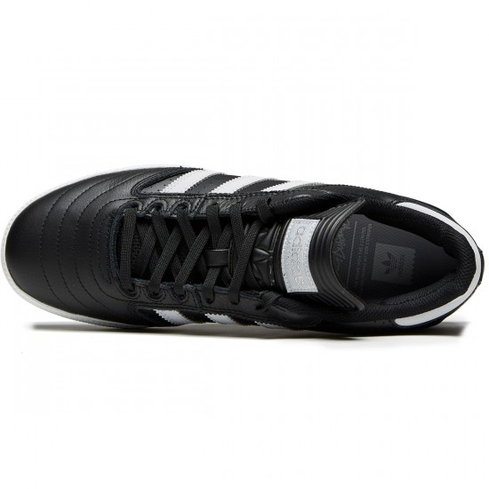 Adidas Busenitz Shoes - Core Black/Solid Grey/Silver - 9.0