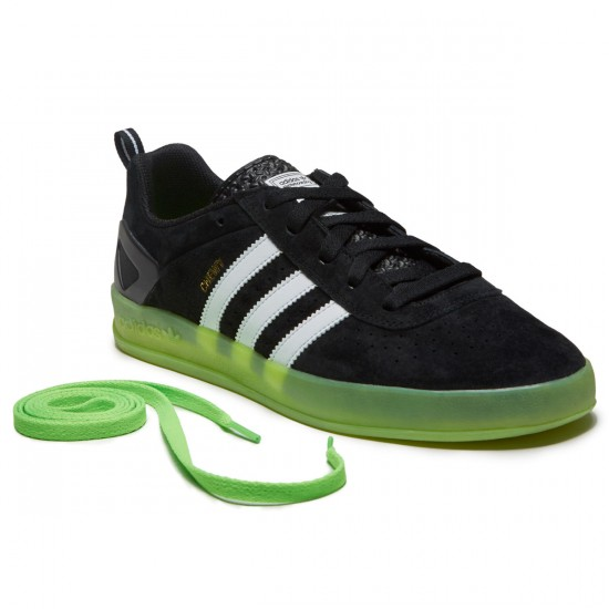Adidas X Palace Pro Chewy Shoes - Black/White/Solar Green - 10.0