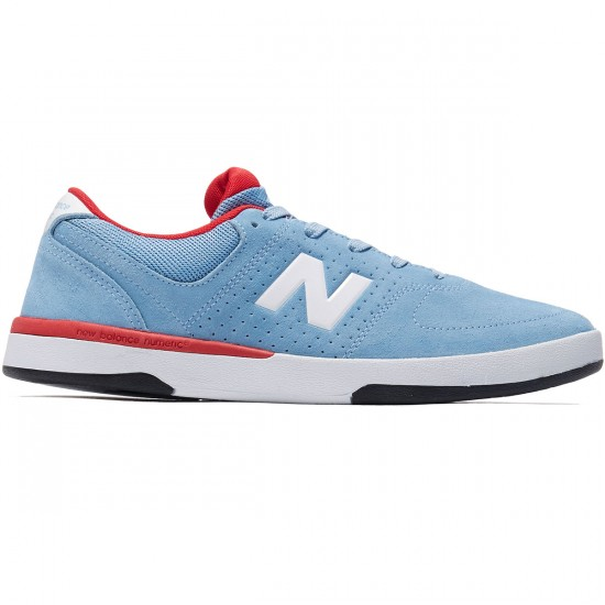 New Balance PJ Stratford 533 Shoes - Sky/Burgundy - 8.0