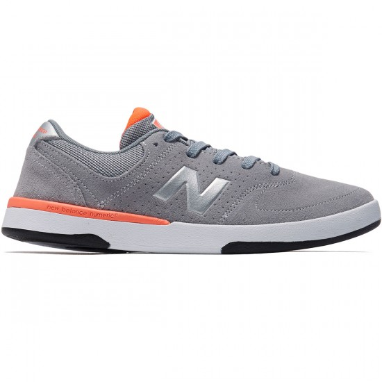 New Balance PJ Stratford 533 Shoes - Grey/Fire - 8.0