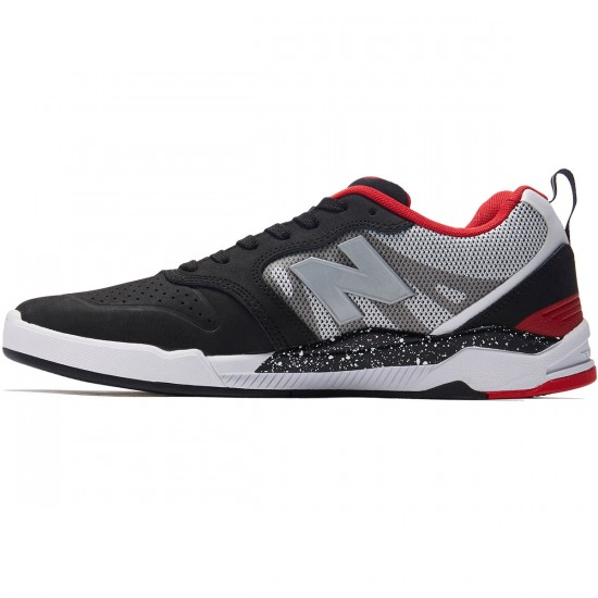 New Balance Numeric 868 Shoes - Black/White/Red - 8.0
