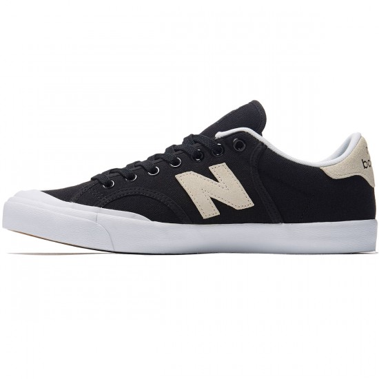 New Balance Pro Court 212 Shoes - Black/White - 8.0