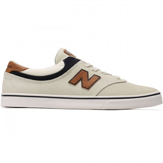 New Balance Quincy 254 Shoes - Stone/Black/Tan - 8.0