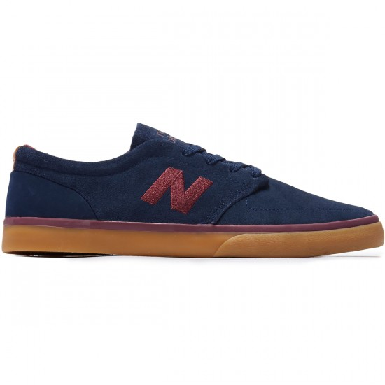 New Balance 345 Shoes - Navy/Burgundy - 8.0