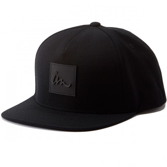 Imperial Motion Caste Snapback Hat - Black