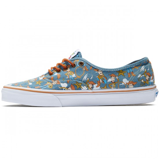 Vans X Disney Toy Story Authentic Shoes - Woody/True White - 8.0
