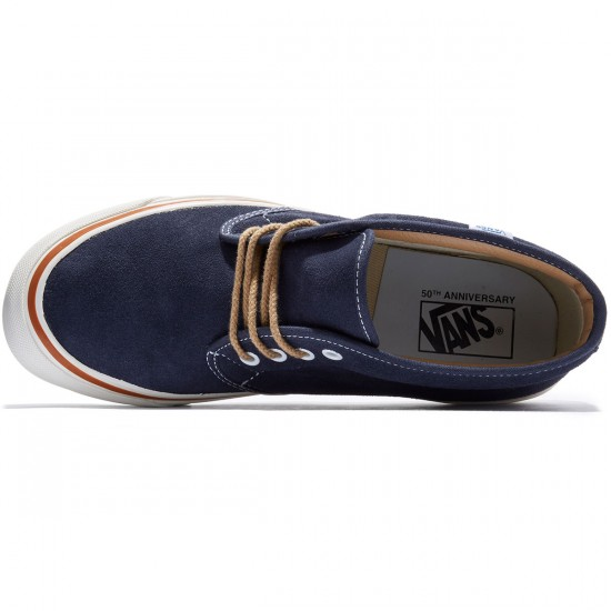 Vans Chukka Boot 49 Reissue Shoes - STV/Navy/Suede - 8.0