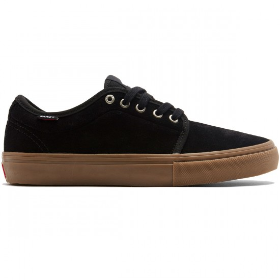 Vans Chukka Low Pro Shoes - Black/Gum - 8.0