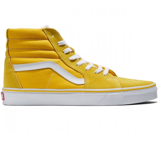 Vans Sk8-Hi Shoes - Spectra Yellow/True White - 8.0