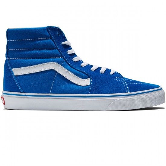 Vans Sk8-Hi Shoes - Imperial Blue/True White - 8.0