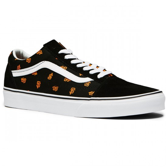 Vans Old Skool MLB Shoes - San Fransisco/Giants/Black - 8.0