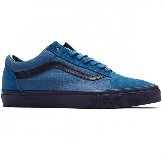 Vans Old Skool Shoes - Blue Ashes/Parisian Night - 8.0