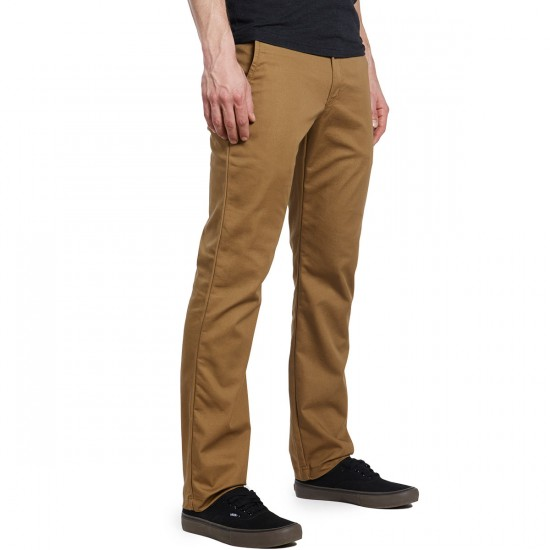 Vans Authentic Chino Stretch Pants - Dirt - 38 - 32