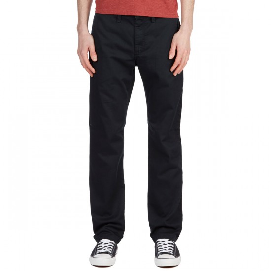 Vans Authentic Chino Stretch Pants - Black - 30 - 32