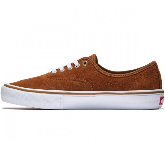 Vans Authentic Pro Shoes - Rubber/White - 8.0