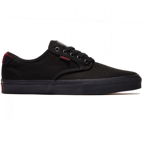 Vans Chima Ferguson Pro Shoes - Black/Black Flannel - 8.0