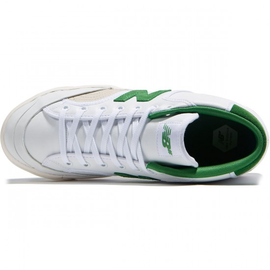 New Balance Numeric Pro Court 213 Shoes - White/Garden Green - 8.0