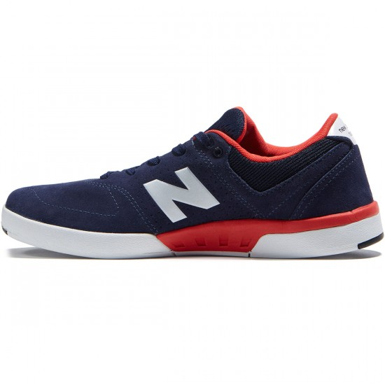 New Balance PJ Stratford 533 Shoes - Boston Navy/Team Red - 8.0