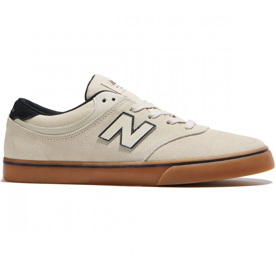 New Balance Quincy 254 Shoes - Cloud White/Gum - 8.0