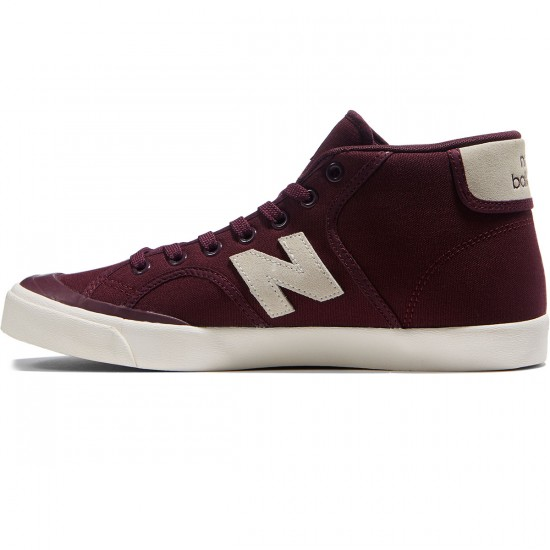 New Balance Numeric Pro Court 213 Shoes - Cordovan/Cloud White - 8.0
