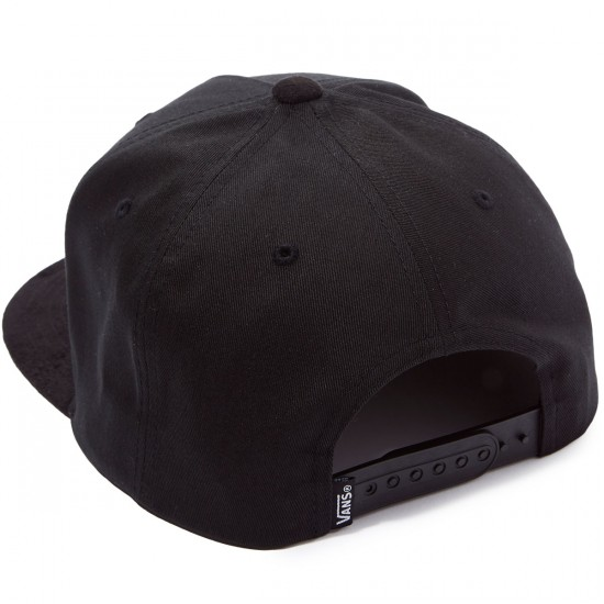 Vans Mini Full Patch Snapback Hat - Black