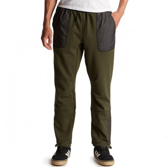 Adidas Academy Sweatpants - Night Cargo/Black/Utility Black - SM