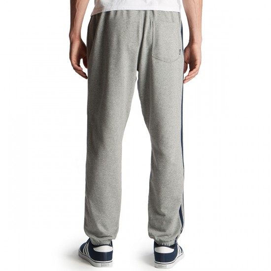 Adidas BB Sweat Pants - Core Heather/Collegiate Navy - SM