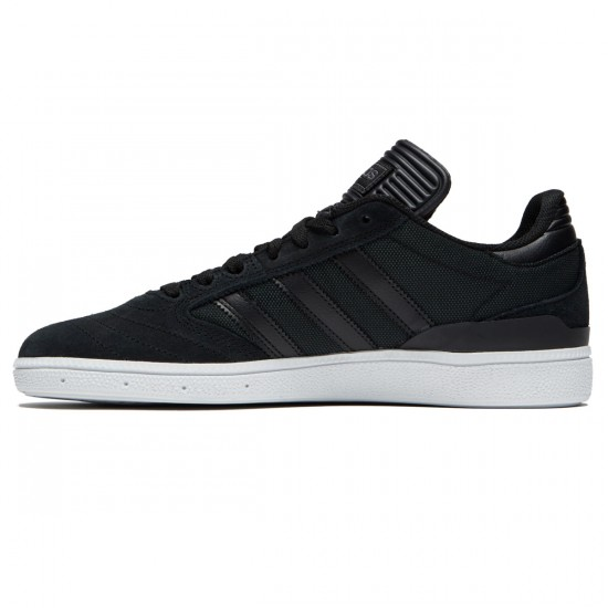 Adidas Busenitz Shoes - Black/Black/White - 6.0