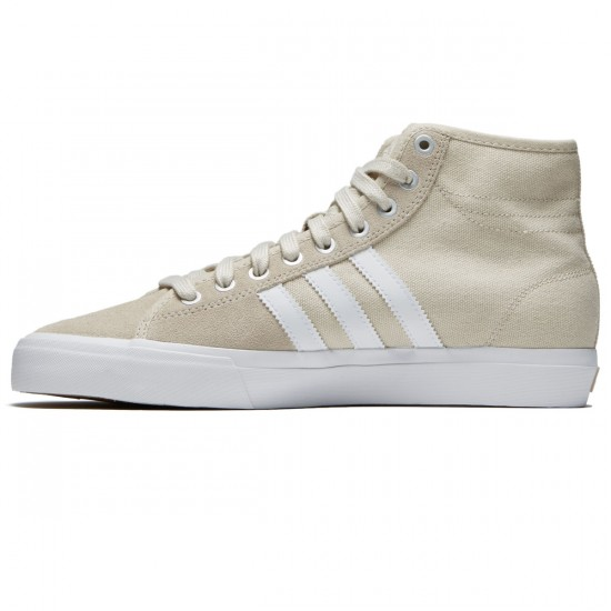 Adidas Matchcourt High RX Shoes - Clear Brown/White/Clear Brown - 8.5