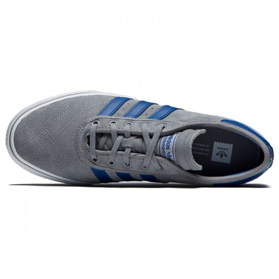 Adidas Adi-Ease Premiere Shoes - Grey Three/Collegiate Royal/White - 7.0
