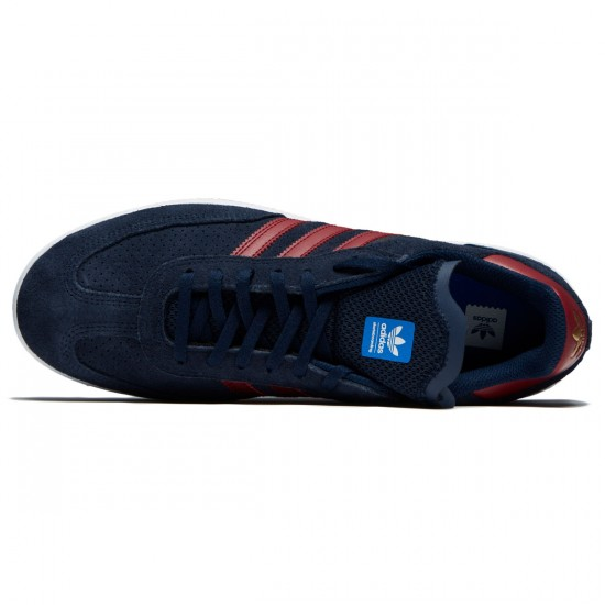 Adidas Samba ADV Shoes - Collegiate Navy/Collegiate Burgundy/White - 7.0