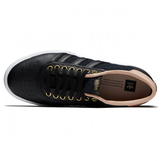 Adidas Lucas Premiere Shoes - Black/Ash Pearl/Gold Met. - 6.5