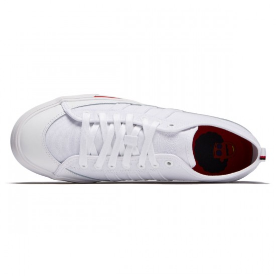 Adidas Matchcourt Rx Na-Kel Shoes - White/Black/Scarlet