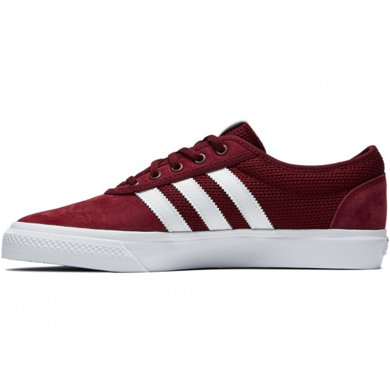 Adidas adi Ease Shoes - Collegiate Burgundy/White/Collegiate Royal - 7.0