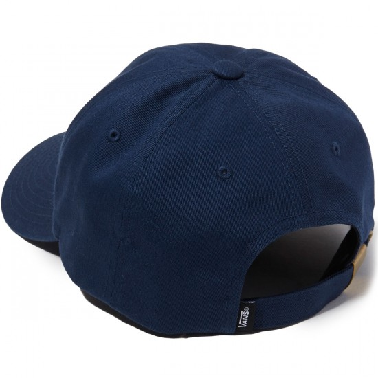 Vans Palm Curved Bill Jockey Hat - Dress Blues