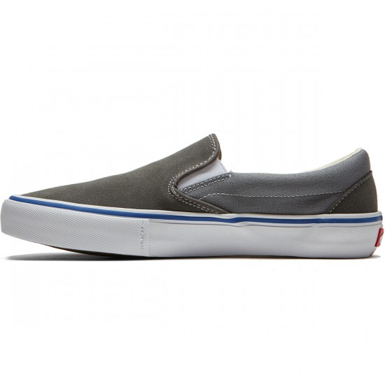 Vans Slip On Pro Shoes - Gunmetal/Monument - 8.0