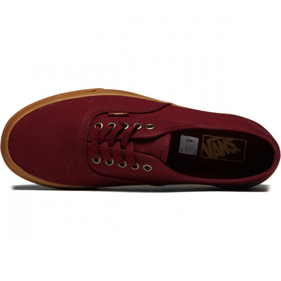 Vans Original Authentic Shoes - Light Gum/Port Royale - 8.0
