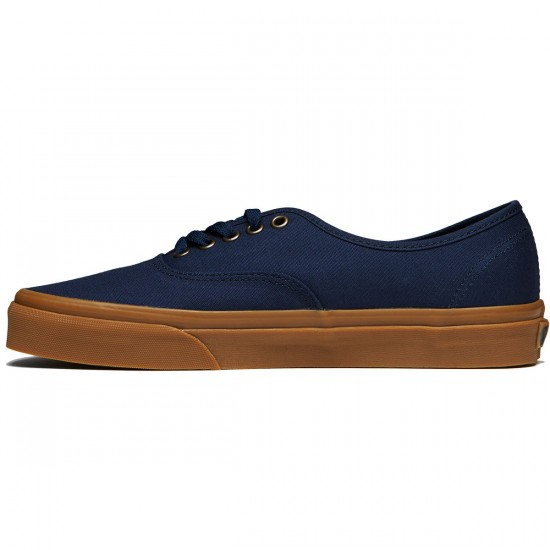 Vans Original Authentic Shoes - Light Gum/Dress Blue - 8.0