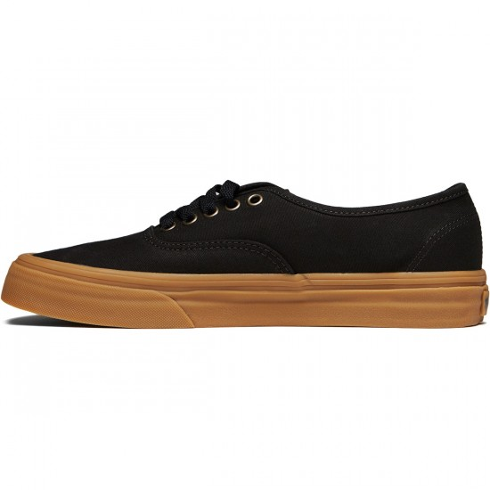 Vans Original Authentic Shoes - Light Gum/Black - 8.0
